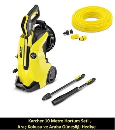 Karcher K4 Premium Full Control Basınçlı Yıkama Makinesi Hediyeli Renkli